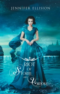 Riot of Storm and Smoke cover Jennifer Ellision